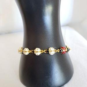 Joan rivers lady bug collection bracelet